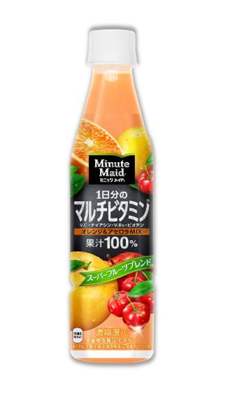 【ふるさと納税】ミニッツメイド1日分のマルチビタミン350ml×24本