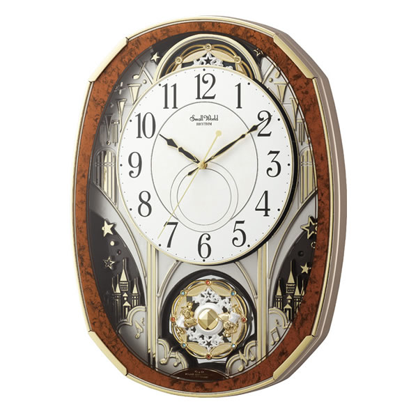 【ふるさと納税】シチズンスモールワールドノエルM~電波からくり時計~4MN513RH23