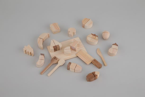 【ふるさと納税】※ひのきのおもちゃ(食材セット)