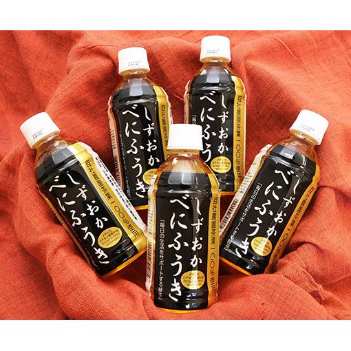 静岡県静岡市 特別セール品 ふるさと納税 べにふうきペットボトル1ケース 350ml 珈琲 飲料類 在庫一掃売り切りセール 24本入り コーヒー