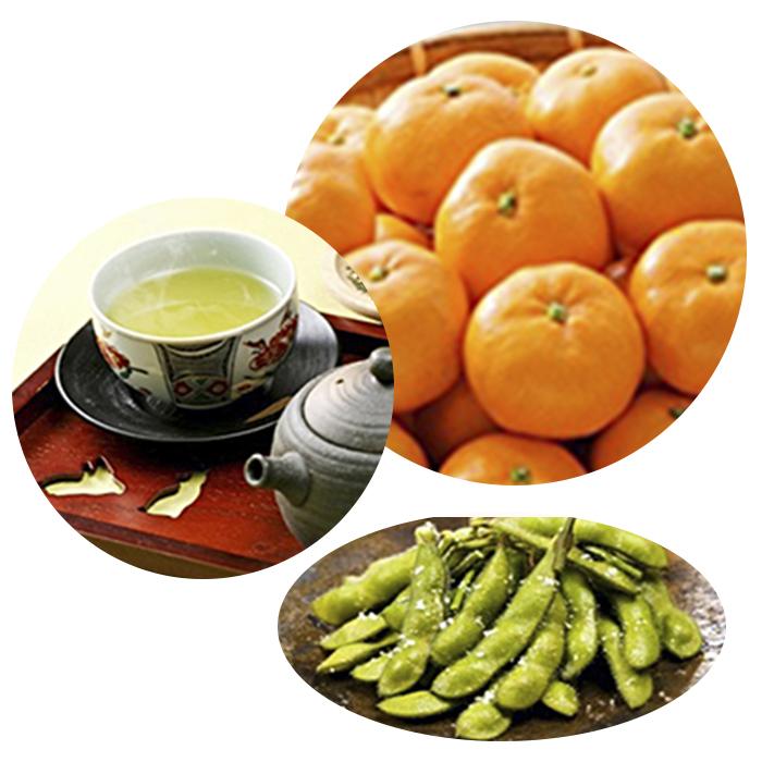 【ふるさと納税】3ヶ月連続お届け!JAしみずバラエティーコース 【定期便・果物類・みかん・柑橘類・お茶・緑茶・野菜・枝豆】 お届け:2020年1月~3月