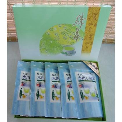 静岡県浜松市 ふるさと納税 浜松産 値下げ 有機水出し煎茶セット 新品未使用 飲料類 お茶 ×5袋 5g×20パック入