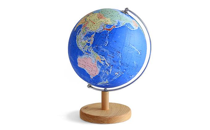 【ふるさと納税】地球儀 スタンダード 【インテリア・学習玩具・おもちゃ】