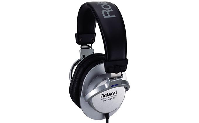 【ふるさと納税】Roland ヘッドホン RH-200S 【雑貨・日用品・音楽機器】