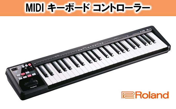 一番人気物 【ふるさと納税】【Roland】MIDI キーボード コントローラー A-49-BK【雑貨・日用品 キーボード・音楽機器】, リカーズハセガワ:901d0721 --- konecti.dominiotemporario.com