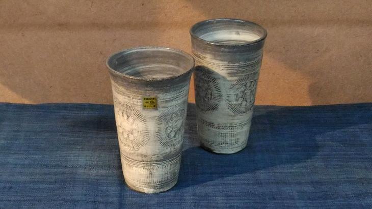 【ふるさと納税】三島産三島茶碗フリーカップペアー