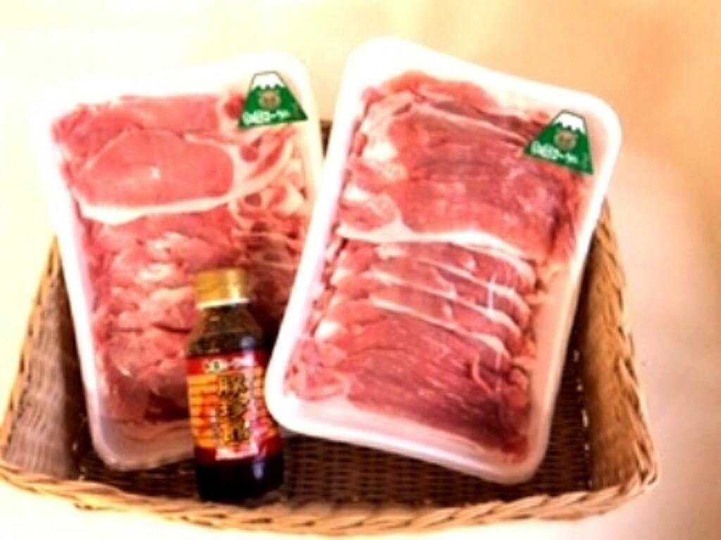 【ふるさと納税】朝霧ヨーグル豚 焼肉セット(15,000円コース ロース、焼き肉のたれ)