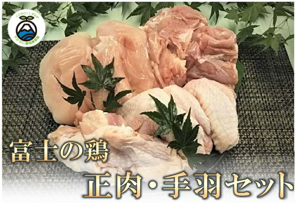 【ふるさと納税】鶏肉 ももなど 静岡県産銘柄鶏「富士の鶏」正肉・手羽セット 鶏肉 正肉 モモ ムネ 手羽先 手羽元 冷凍 送料無料