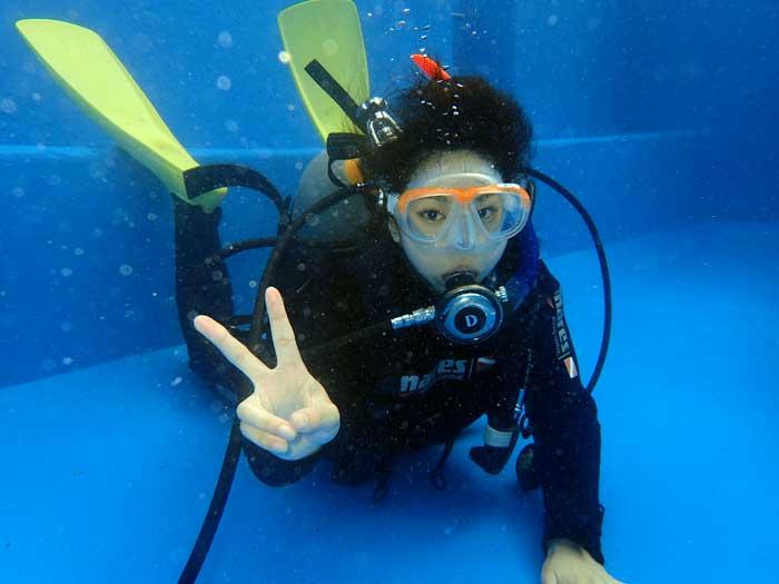 伊東・城ヶ崎の海で初級ダイビングライセンスが取得できる2日コース(1名様)【ふるさと納税】