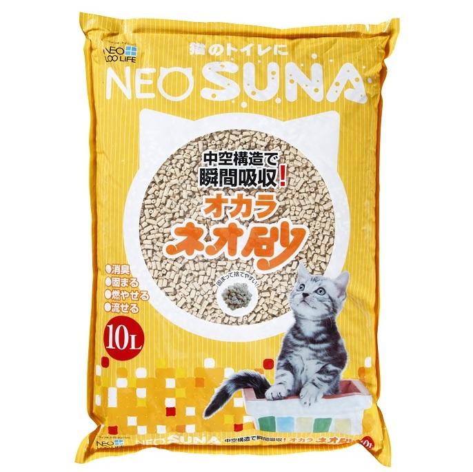 【ふるさと納税】1125ネオ砂オカラ10L×10袋