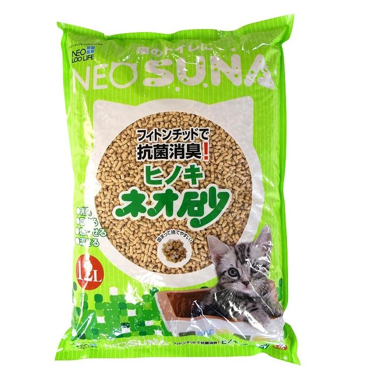【ふるさと納税】1126ネオ砂ヒノキ12L×10袋