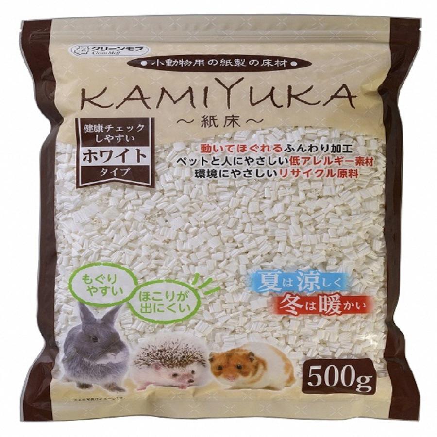 【ふるさと納税】1314クリーンモフ小動物用床材KAMIYUKAホワイト500g×18