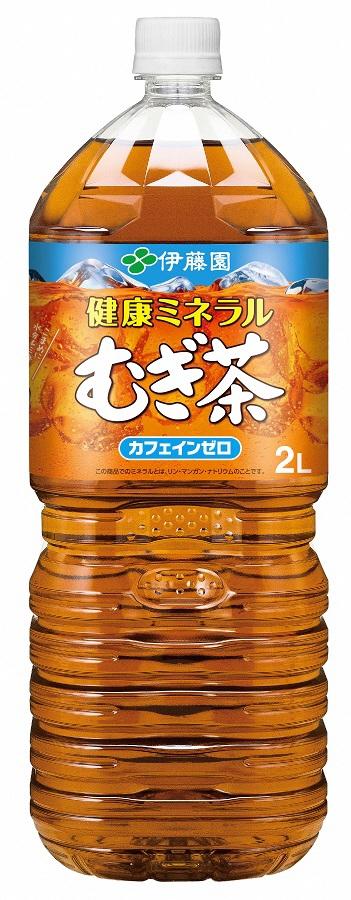 【ふるさと納税】伊藤園 健康ミネラルむぎ茶 2L PET×6本 [麦茶]