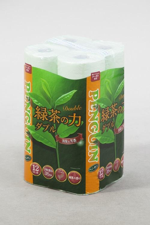 【ふるさと納税】1367緑茶の力12R ダブル 72個