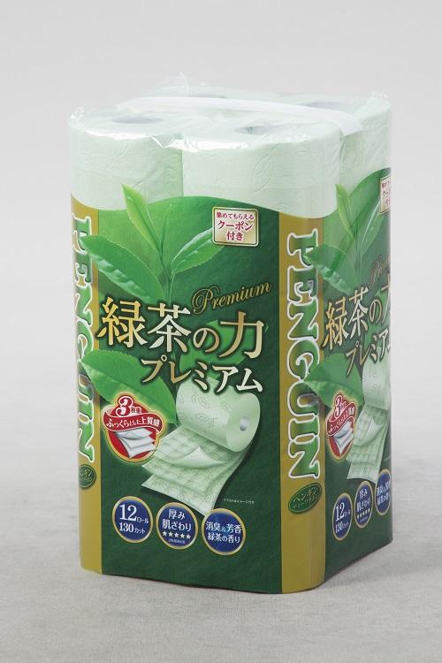 【ふるさと納税】1366緑茶の力プレミアム12R トリプル 96個
