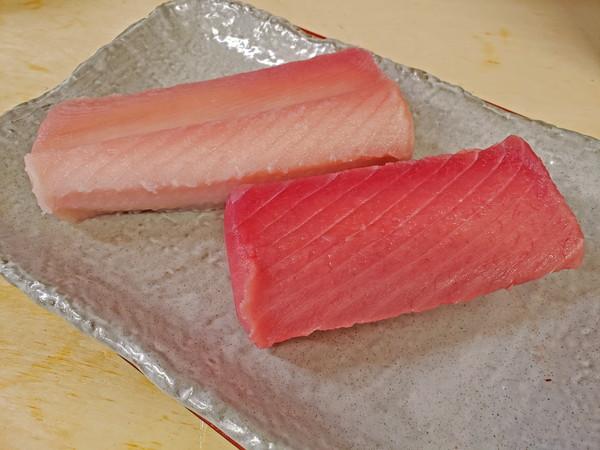 【ふるさと納税】a38-001 魚二 天然ビンチョウ鮪・目鉢鮪中トロ約1.6kgセット