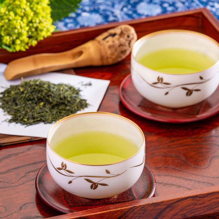 ふるさと納税 荒井園の緑茶セット 送料無料 新品 ふじのくに山のお茶100選の銘茶 売買