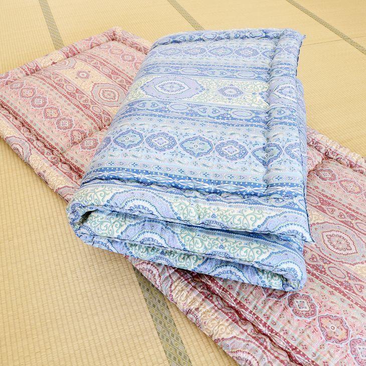 【ふるさと納税】とにかく軽くてお手入れ簡単!「カルカル羊毛敷布団」