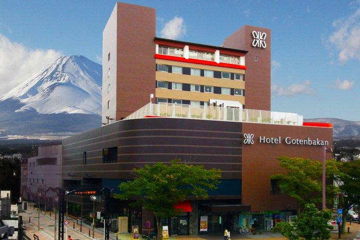 【ふるさと納税】THE GOTEMBAKAN1泊朝食付き宿泊ペアチケット御殿場駅から徒歩1分の好立地シティホテル