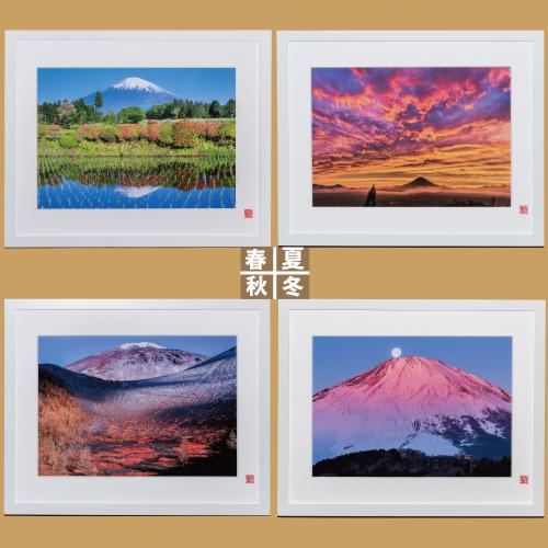 【ふるさと納税】富士山を知り尽くしたカメラマンが撮った、御殿場からの富士山フォト