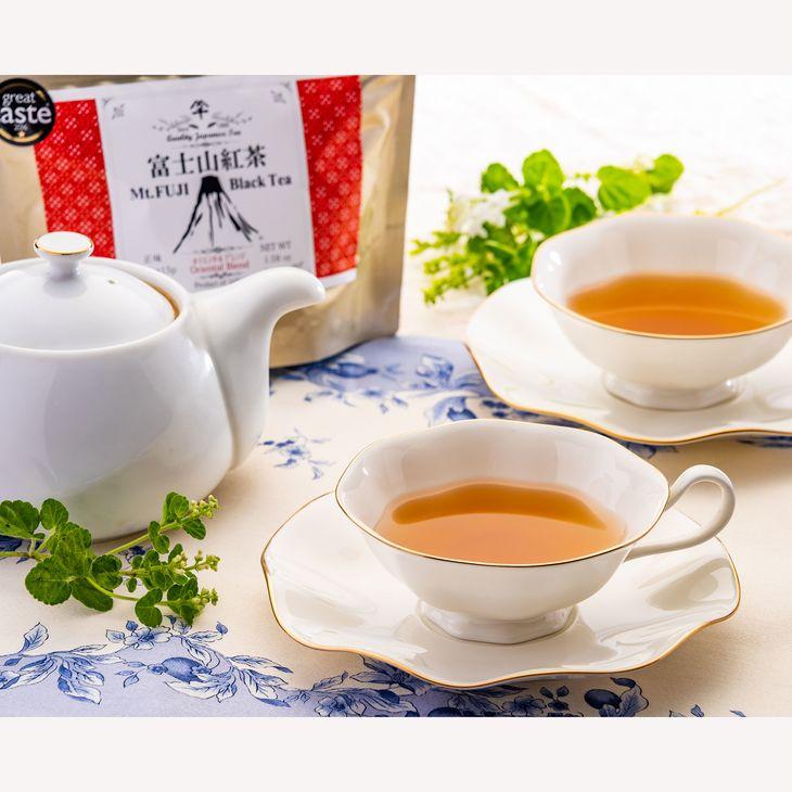 【ふるさと納税】荒井園の富士山紅茶詰合せ『英国コンクール金賞などの国産紅茶』