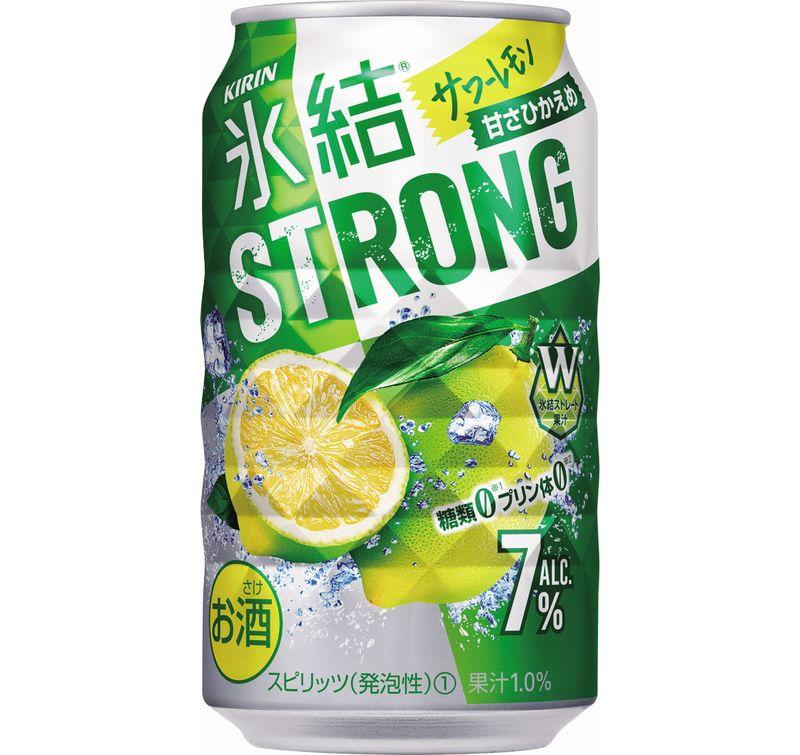 【ふるさと納税】キリン 氷結ストロング サワーレモン 350ml 1ケース(24本)【お酒 チューハイ】
