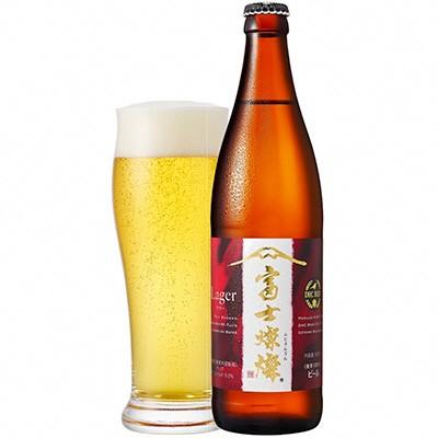 【ふるさと納税】富士燦燦ラガー ビール】 500ml×6本セット【お酒