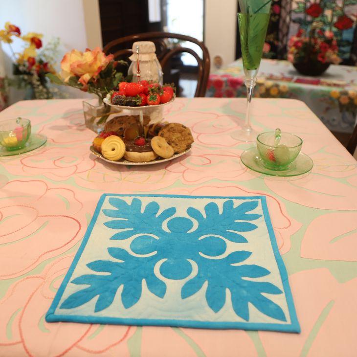 【ふるさと納税】キャシー中島のキルトキット ウルのタペストリーとマスクキット(3個)セット
