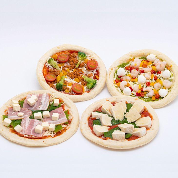 【ふるさと納税】時之栖オリジナル 冷凍ピザセット【パン ピザ 冷凍食品】