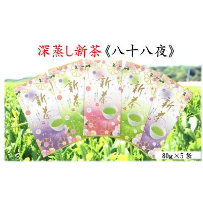 低価格化 静岡県袋井市 ふるさと納税 深蒸し煎茶《翠》 80g×5袋 予約販売 お茶 緑茶 お届け:~2022年4月下旬