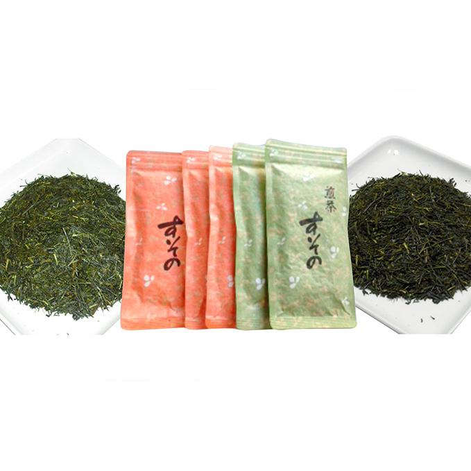 【ふるさと納税】深蒸し煎茶 詰合せ 【飲料類・お茶】