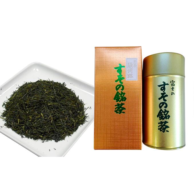 【ふるさと納税】深蒸し特上煎茶 霊峰富士缶入り  【飲料類・お茶】