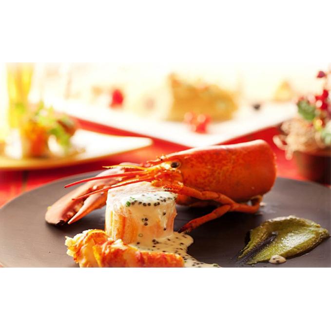 【ふるさと納税】フレンチレストラン「アデリーヌ」ぺア食事券A(ディナー) 【チケット・お食事券】