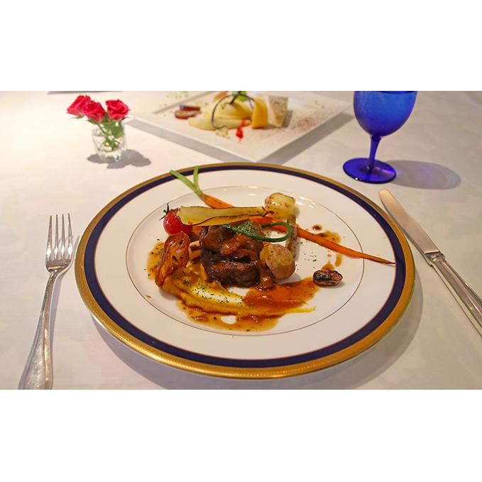 【ふるさと納税】フレンチレストラン「アデリーヌ」ぺア食事券B(ディナー) 【チケット・お食事券】