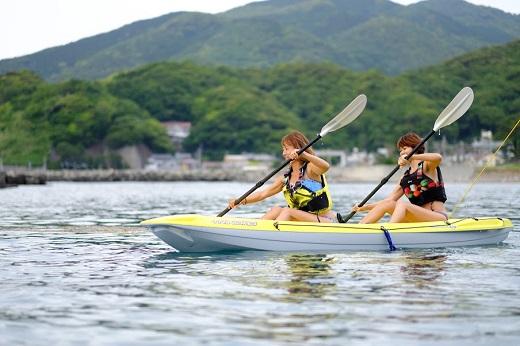 D-27 土肥の海を遊ぼう【カヤック&シュノーケリング】ペア券