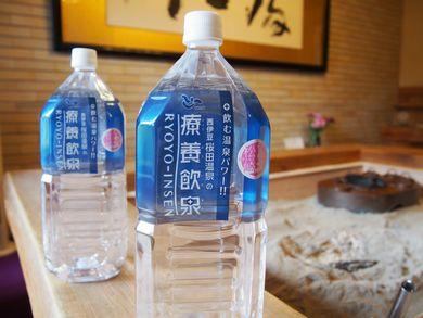 【ふるさと納税】療養飲泉2リットル6本入り