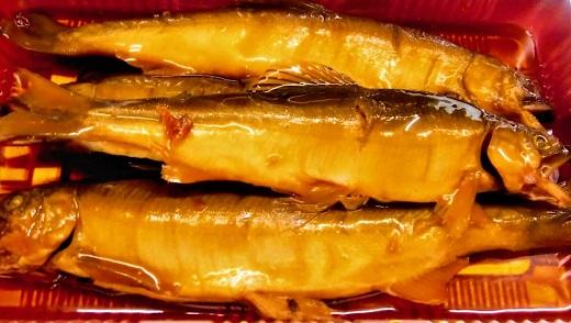【ふるさと納税】鮎の甘露煮(卵あり)5匹