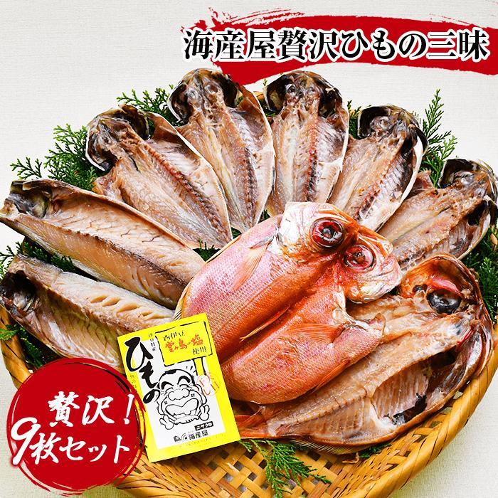 【ふるさと納税】海産屋の「贅沢ひもの三昧」