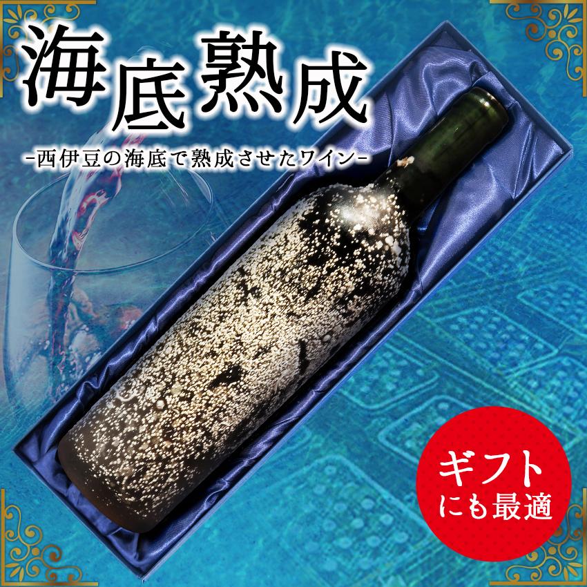 【ふるさと納税】「海底熟成ワインVOYAGE」飲み比べ4本セット