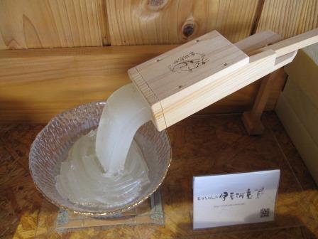 【ふるさと納税】柿田川名水ところてん6食 木製突き棒付きセット