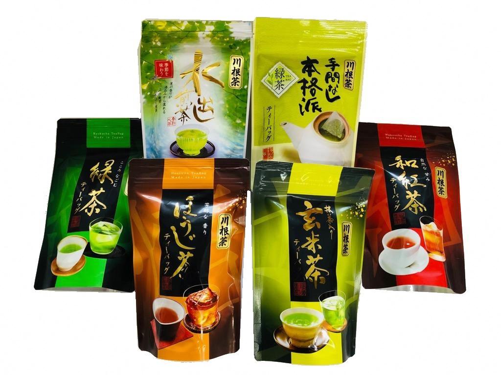 ふるさと納税 お茶 静岡 ティーバッグ お楽しみ 登場大人気アイテム 6種類 20個入×6種類 超定番 20個入 6種の川根茶バラエティーバックセット120個