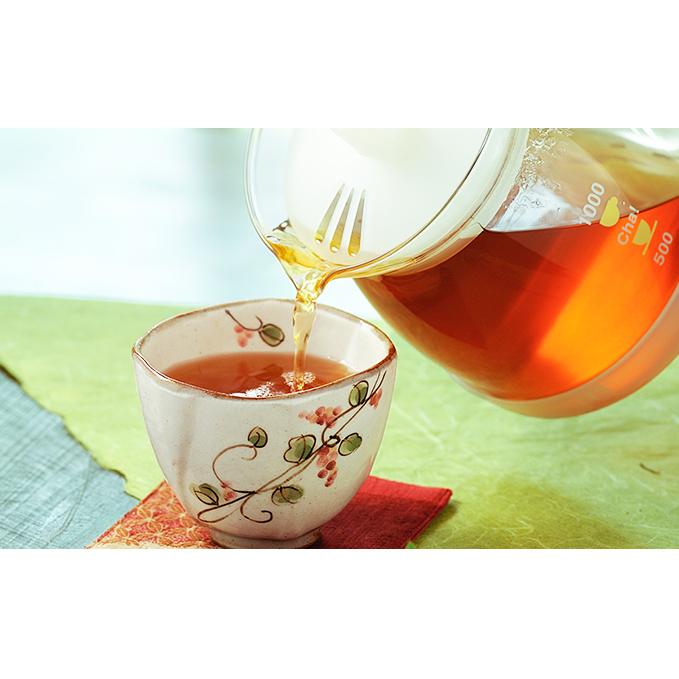 【ふるさと納税】有機黒麹発酵茶「山吹撫子」ペットボトル1ケース 【飲料類/お茶類】