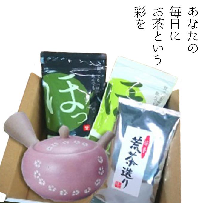 【ふるさと納税】あなたの毎日に「ほっ」 【飲料類/お茶・日本茶・煎茶・急須】