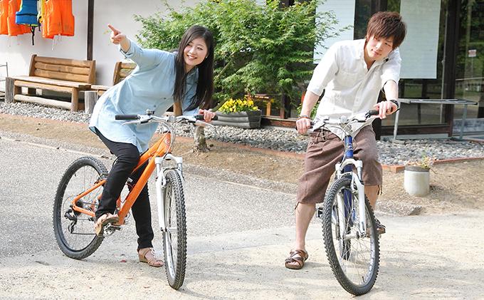 【ふるさと納税】レンタルマウンテンバイク 1日 ペア体験券 【体験チケット】