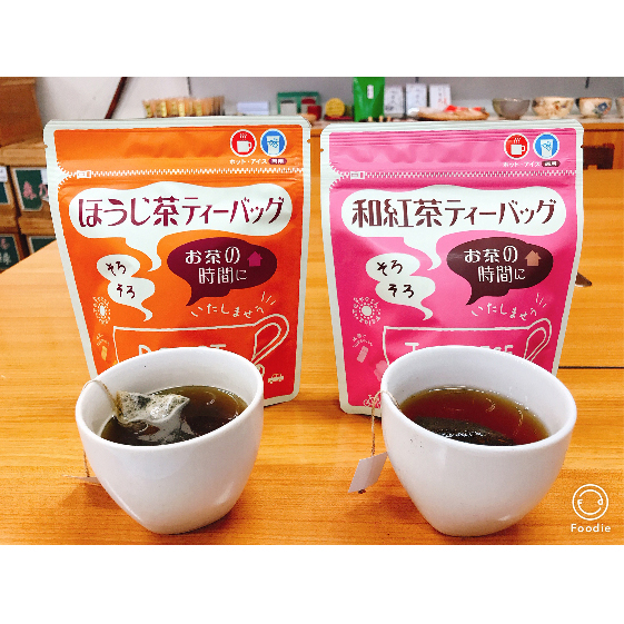 【ふるさと納税】和紅茶ティーバッグ2g×20ヶ入×3袋、上ほうじ茶ティーバッグ2g×20ヶ入×3袋 【飲料類・お茶・焙煎・焙じ茶・紅茶・セット・詰め合わせ】