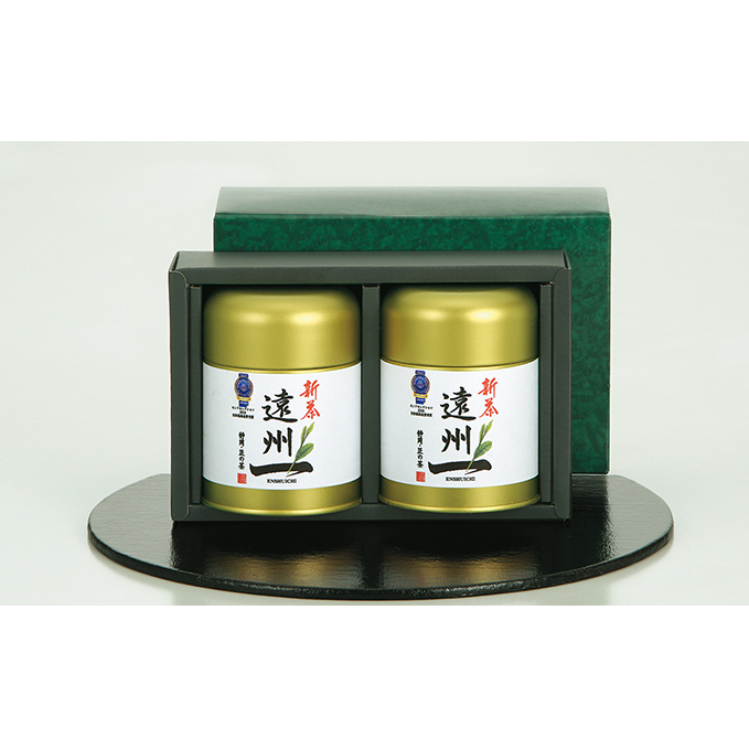 【ふるさと納税】お茶の極匠がこだわった「遠州一」缶入りセット 【お茶・緑茶】