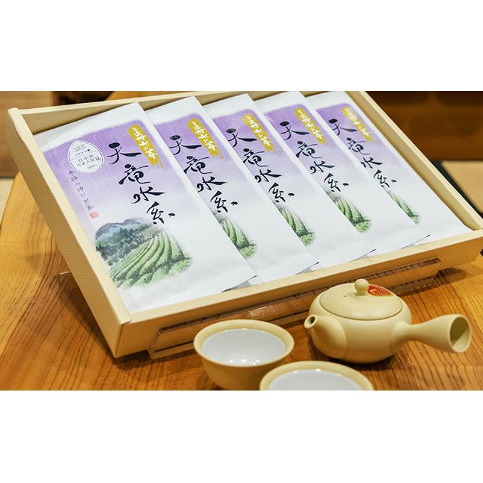 【ふるさと納税】天竜水系5本セット 【お茶・緑茶】