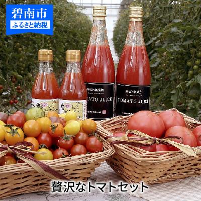 【ふるさと納税】トマト好きにはたまらない贅沢なトマトセット H004-003