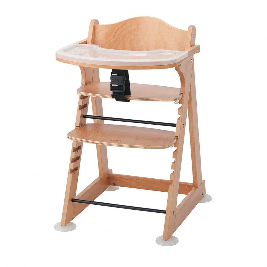 5秒で切り替え 工具なしで簡単に高さ調節できるベビーチェア ふるさと納税 52-13_プレミアムベビーチェアmamy ナチュラル カトージ 直営ストア KATOJI 子育て 子ども ブランド 椅子 直営限定アウトレット おしゃれ 家具