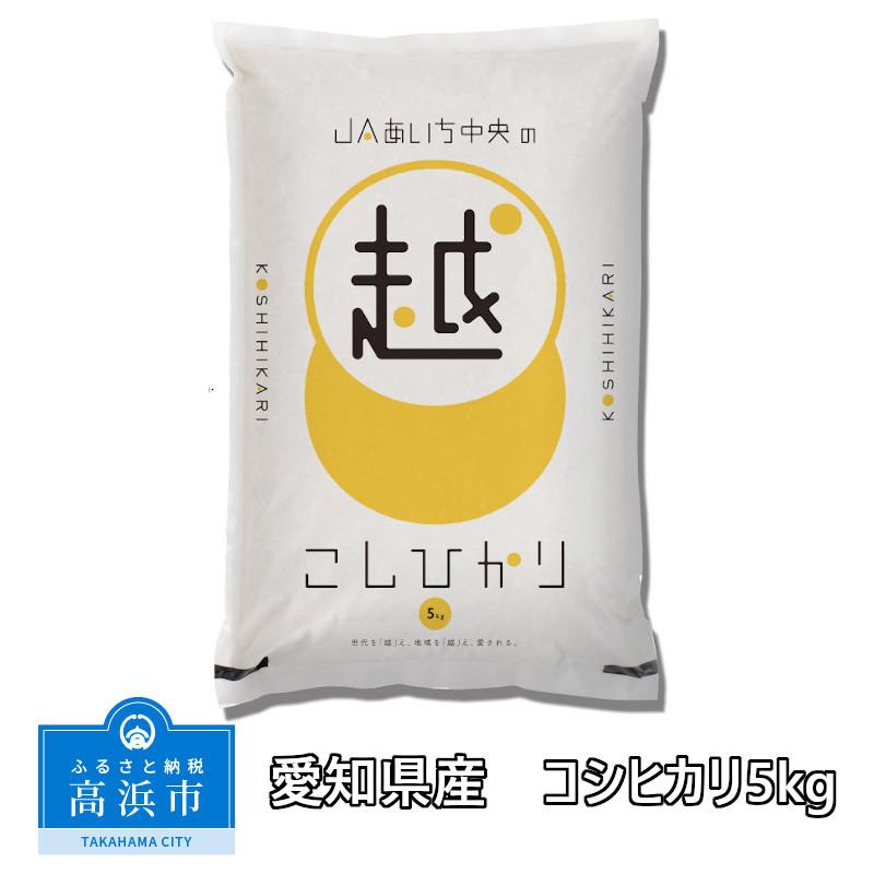 【ふるさと納税】愛知県産 コシヒカリ5kg